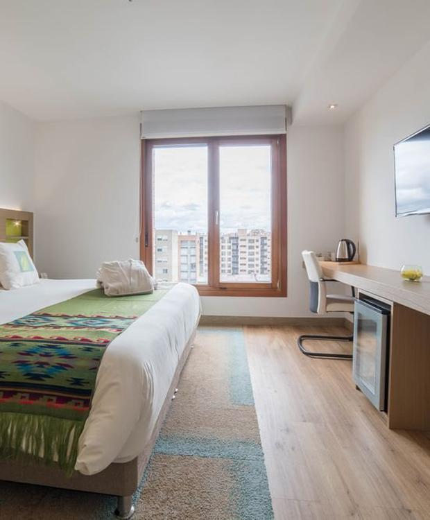 Junior suite avec jacuzzi Biohotel Organic Suites Bogota