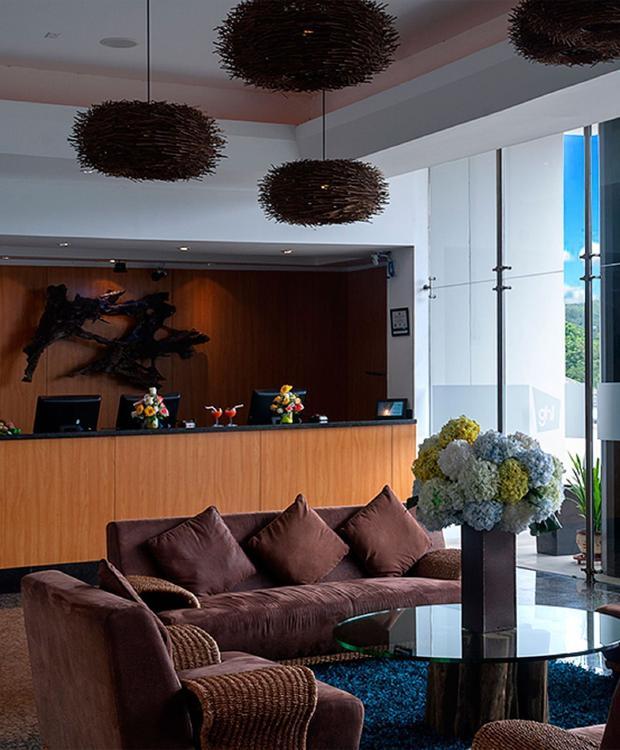Lobby Villavicencio GHL Hôtel Grand Villavicencio Villavicencio