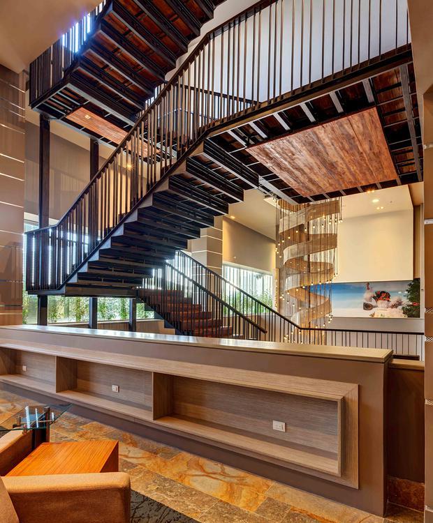 Escaliers GHL Hôtel Montería Montería