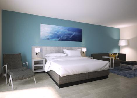 Chambre king bed with sofa bed Hotel Hyatt Place San Pedro Sula San Pedro Sula