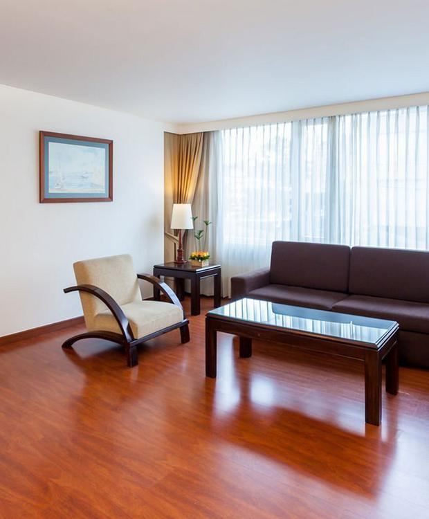 Habitación Junior Suite Twin GHL Style Hôtel Belvedere Bogota