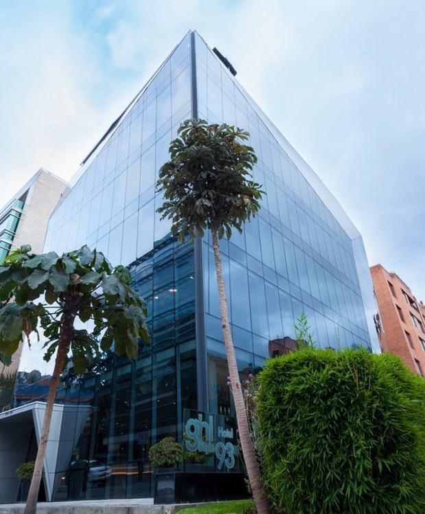 Façade Hôtel GHL Collection 93 Bogota