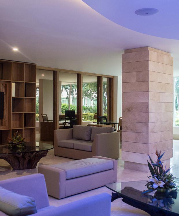 Lobby Hôtel GHL Relax Costa Azul Santa Marta