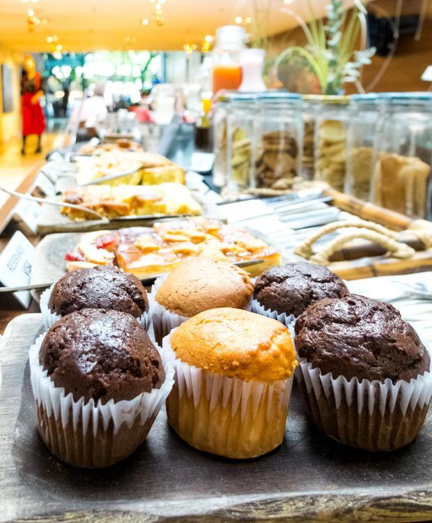 Petit-déjeuner buffet Howard Johnson Hotel & Suites Córdoba