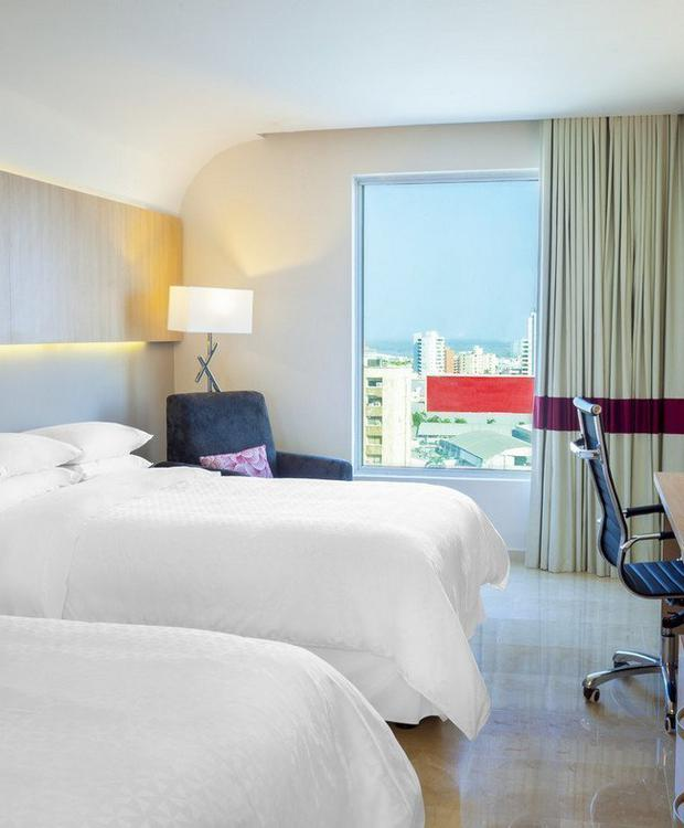 Chambre Twin Hotel Four Points By Sheraton Barranquilla Barranquilla