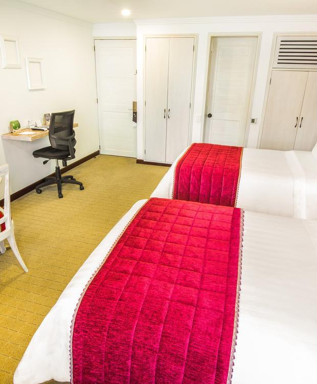 Chambre Twin GHL Hotel Hamilton Hôtel GHL Collection Hamilton Bogota