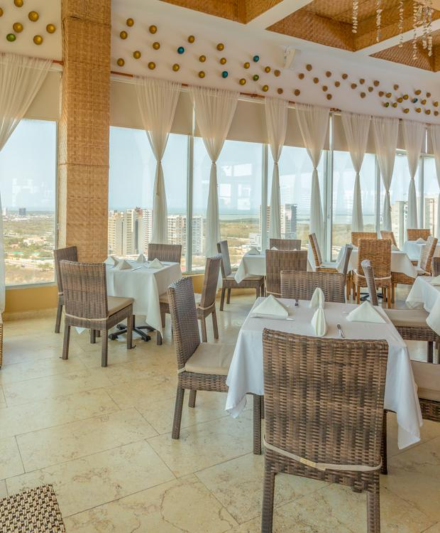 Coco Beach Restaurant Bar GHL Collection Barranquilla Hôtel Barranquilla