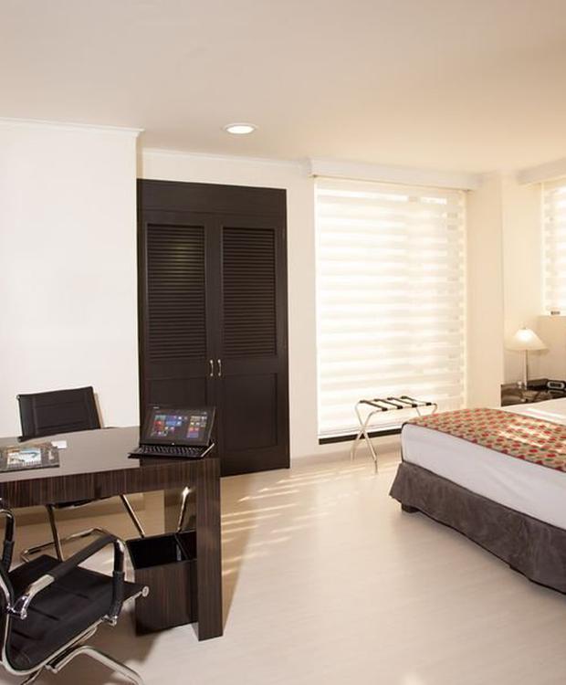 Chambre deluxe superiéure GHL Hôtel Portón Medellín Medellín